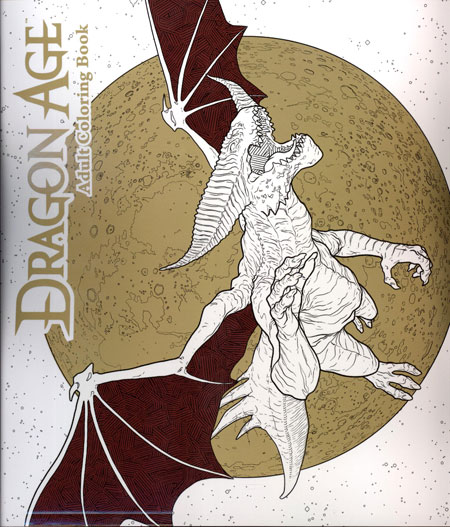 Dragon Age Adult Coloring Book Sc