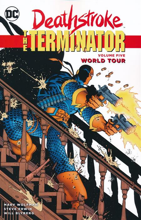 DEATHSTROKE THE TERMINATOR TP VOL 05 WORLD TOUR