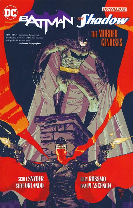 BATMAN SHADOW THE MURDER GENIUSES TP