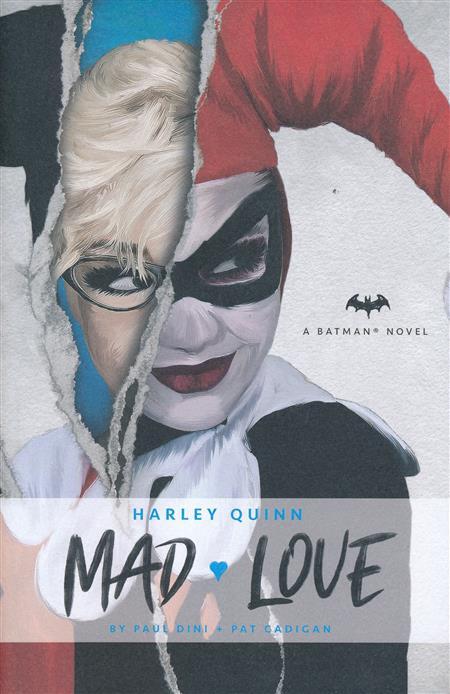 DC COMICS NOVELS HARLEY QUINN MAD LOVE HC (C: 0-1-0)