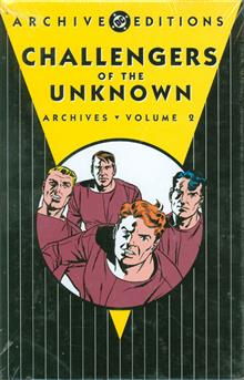 CHALLENGERS OF THE UNKNOWN ARCHIVES VOL 2 HC