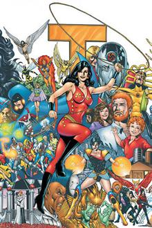 NEW TEEN TITANS WHO IS DONNA TROY TP