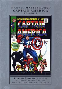 MARVEL MASTERWORKS CAPTAIN AMERICA VOL 2 NEW ED HC