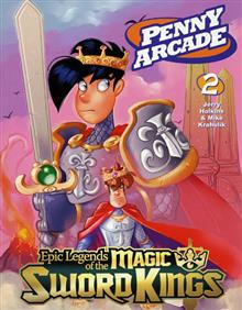 PENNY ARCADE TP VOL 02 LEGENDS MAGIC SWORD