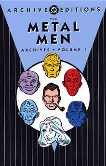 METAL MEN ARCHIVES VOL 1 HC