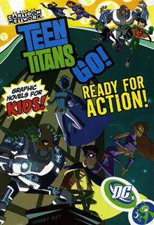 TEEN TITANS GO VOL 4 READY FOR ACTION TP