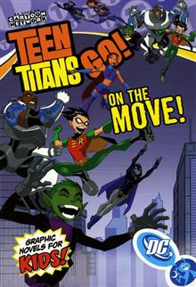 TEEN TITANS GO VOL 5 ON THE MOVE TP