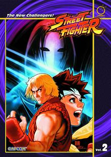 STREET FIGHTER TP VOL 02 NEW CHALLENGERS