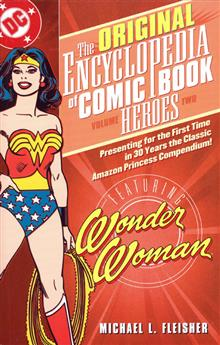 ENCYCLOPEDIA OF COMICBOOK HEROES VOL 2 WONDER WOMAN TP