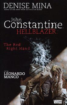 HELLBLAZER THE RED RIGHT HAND TP (MR)