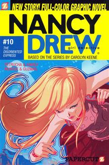 NANCY DREW VOL 10 THE DISORIENTED EXPRESS SC