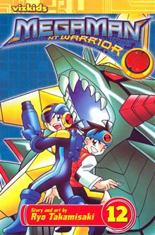 MEGAMAN NT WARRIOR VOL 12 GN