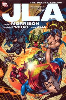 JLA DELUXE EDITION VOL 1 HC