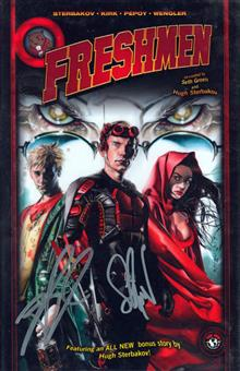 FRESHMEN VOL 1 HC LTD SGN ED