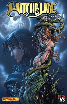 damaged WITCHBLADE SHADES OF GRAY TP