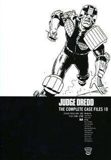 JUDGE DREDD COMPLETE CASE FILES TP VOL 10 (C: 0-1-