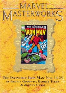 MMW INVINCIBLE IRON MAN HC VOL 06 VAR ED 124