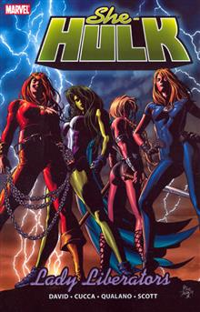 SHE-HULK VOL 9 LADY LIBERATORS TP
