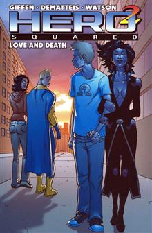 HERO SQUARED VOL 3 LOVE & DEATH TP