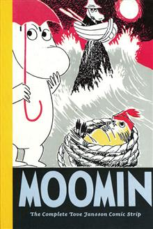 MOOMIN COMPLETE TOVE JANSSON COMIC STRIP VOL 4 HC