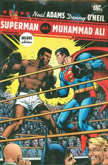 SUPERMAN VS MUHAMMAD ALI DELUXE HC