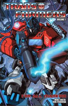 TRANSFORMERS ONGOING TP VOL 01 FOR ALL MANKIND