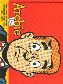 ARCHIE CLASSIC NEWSPAPER COMICS HC VOL 01