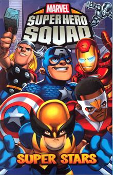 SUPER HERO SQUAD TP SUPER STARS DIGEST