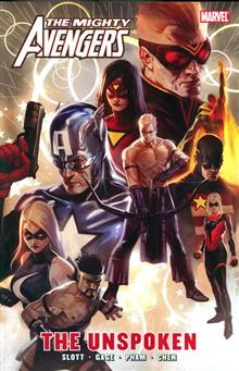 MIGHTY AVENGERS TP UNSPOKEN