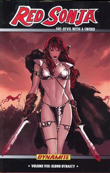 RED SONJA HC VOL 08 BLOOD DYNASTY