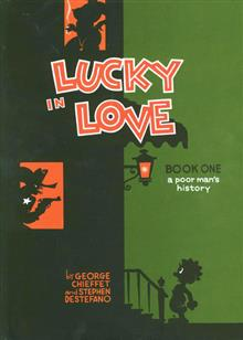 LUCKY IN LOVE A POOR MANS HISTORY HC (MR)