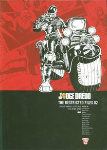 JUDGE DREDD RESTRICTED FILES TP VOL 02