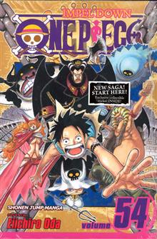 ONE PIECE GN VOL 54