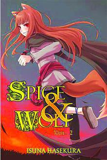 SPICE AND WOLF NOVEL VOL 02