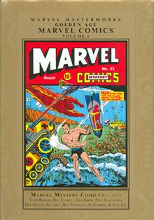 MMW GOLDEN AGE MARVEL COMICS HC VOL 06