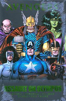 AVENGERS ASSAULT ON OLYMPUS PREM HC