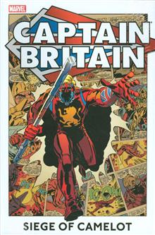 CAPTAIN BRITAIN HC VOL 02 SIEGE OF CAMELOT