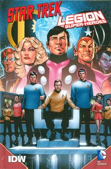 STAR TREK LEGION OF SUPER-HEROES HC