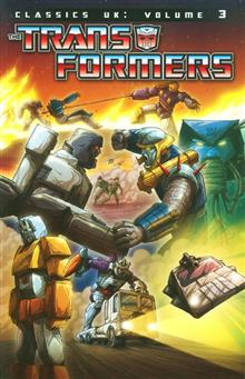 TRANSFORMERS CLASSICS UK TP VOL 03