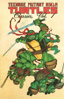 TEENAGE MUTANT NINJA TURTLES CLASSICS TP VOL 01