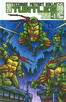 TMNT ONGOING HC VOL 01 DELUXE ED