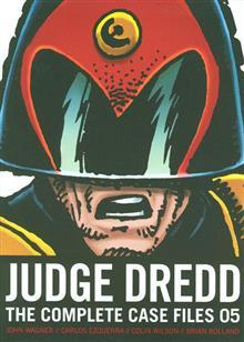 JUDGE DREDD COMP CASE FILES TP (S&S ED) VOL 05