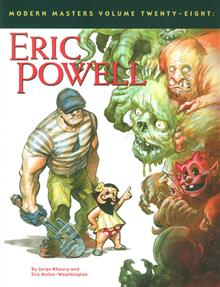 MODERN MASTERS SC VOL 28 ERIC POWELL