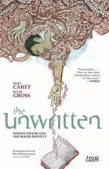 UNWRITTEN VOL 1 TOMMY TAYLOR AND THE BOGUS IDENTITY TP