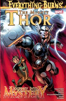 MIGHTY THOR AND JIM TP EVERYTHING BURNS