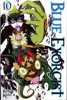 BLUE EXORCIST GN VOL 10