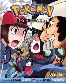 POKEMON BLACK & WHITE GN VOL 09