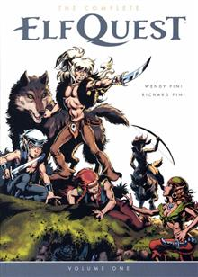 COMPLETE ELFQUEST TP VOL 01 ORIGINAL QUEST (First printing, may contain misprint)