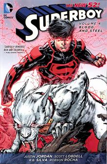 SUPERBOY TP VOL 04 BLOOD AND STEEL (N52)