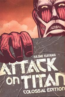 ATTACK ON TITAN COLOSSAL ED TP VOL 01